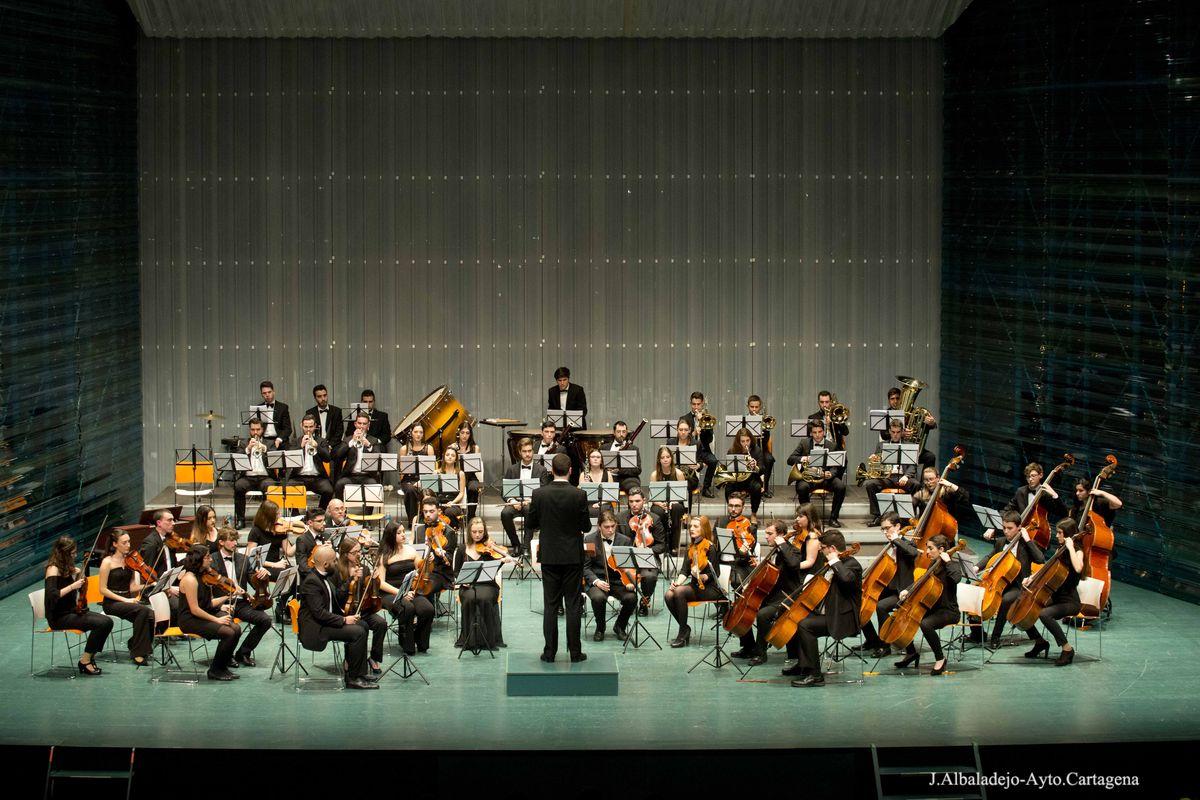 Concierto de la joven orquesta Sinfónica de Cartagena