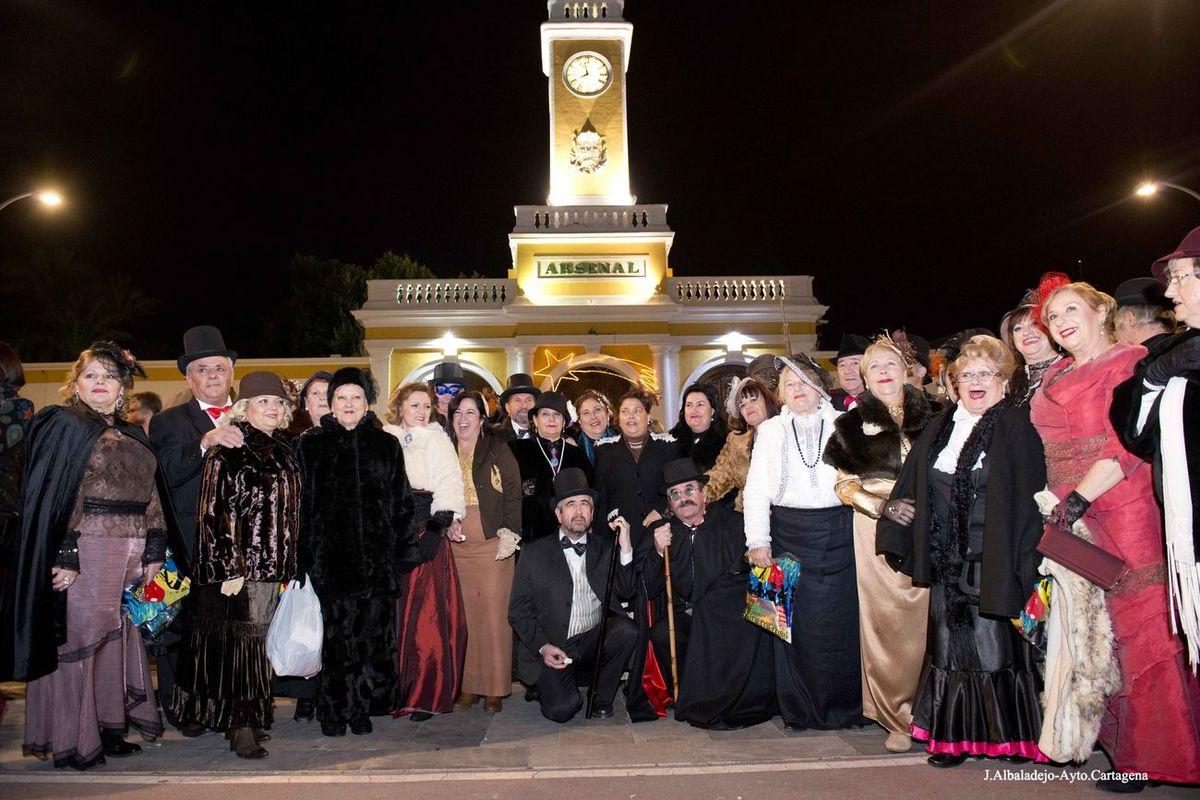 Celebración de las Preuvas Modernistas en la plaza del rey