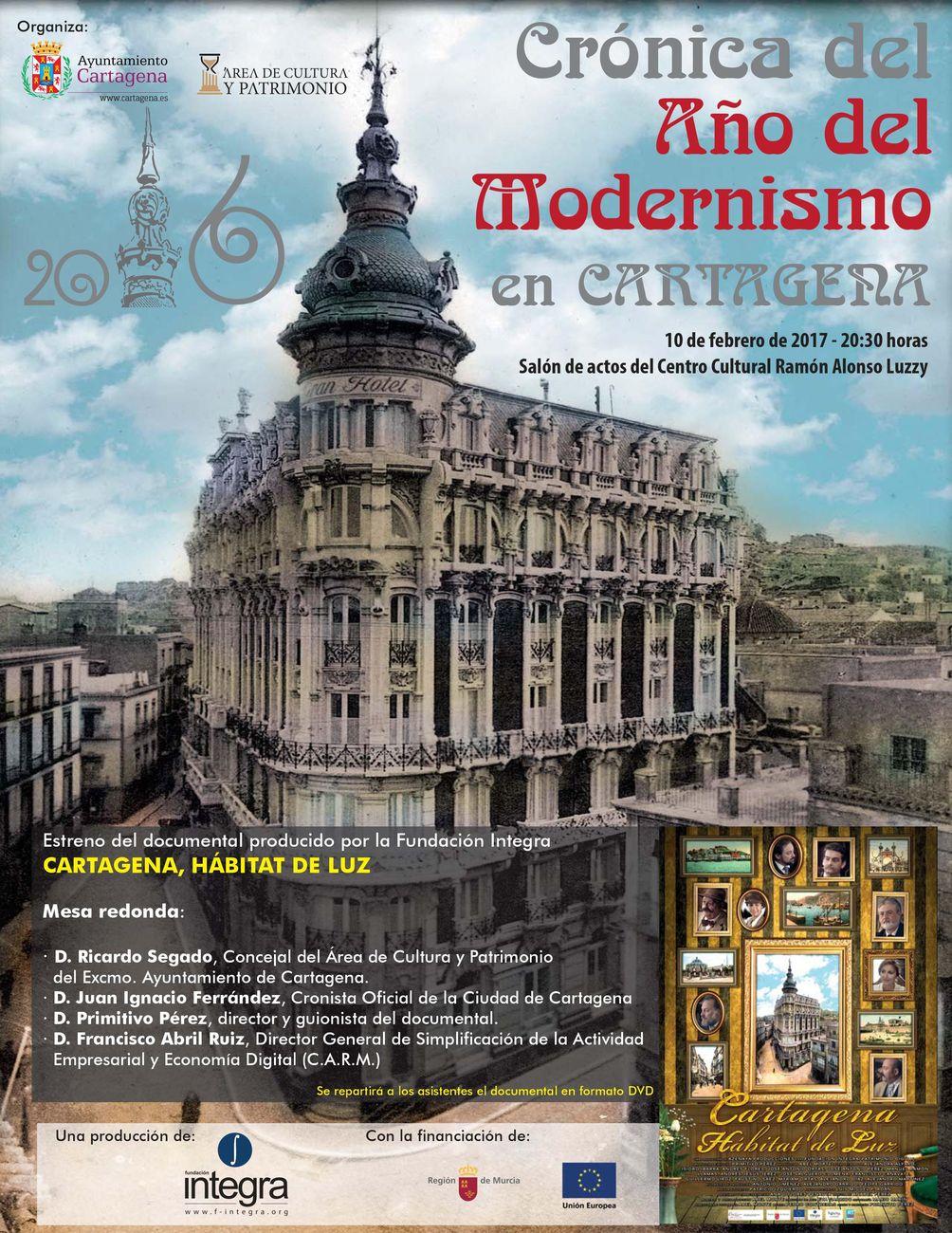 presentacin de la crnica del ao del modernismo