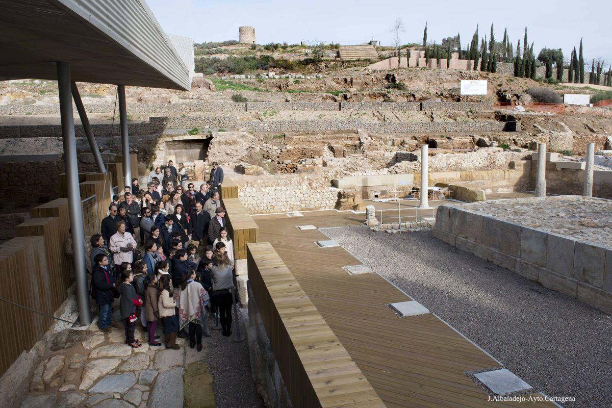 Visitantes del Foro Romano