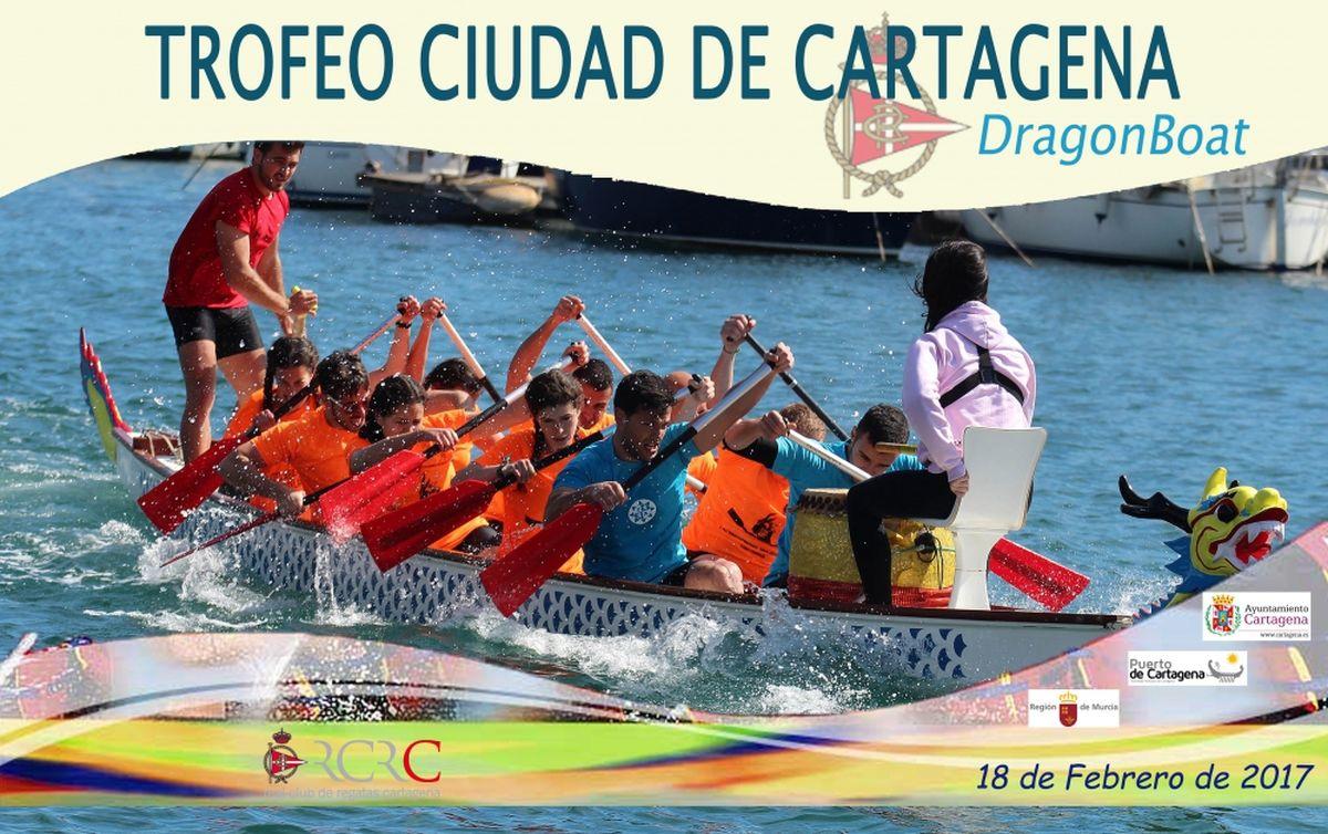 El Real Club de Regatas organiza el I Trofeo Ciudad de Cartagena de Dragon  Boat. ‹ › 595b8fe964938
