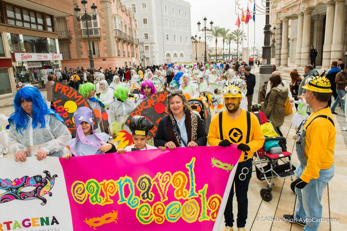 Desfile Carnaval Escolar