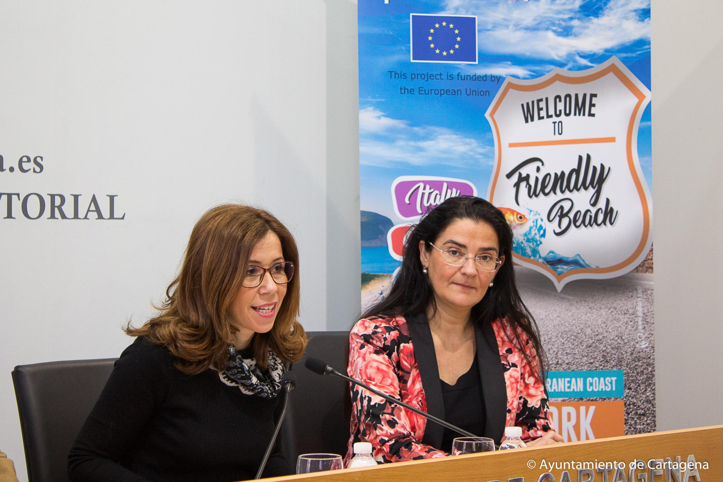 Presentación de las acciones de formación del programa Friendly Beach en Cartagena