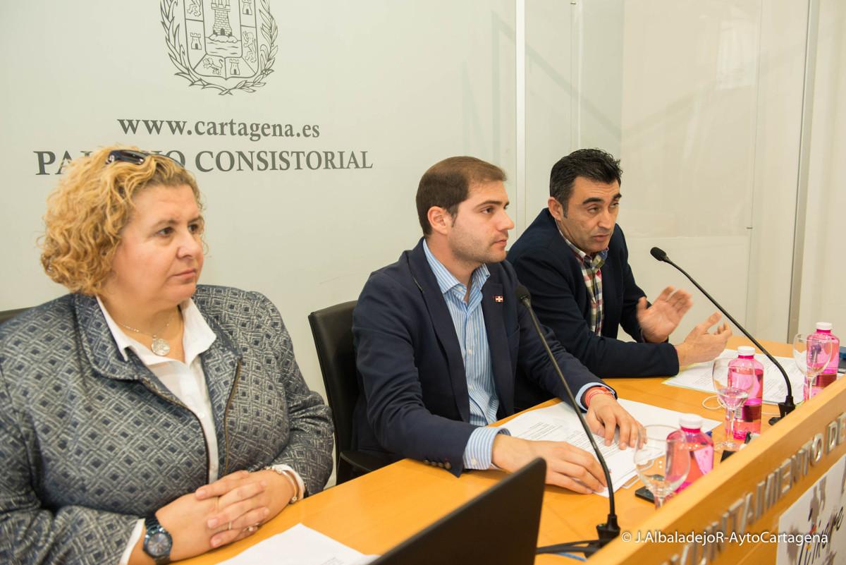 Presentación de la jornada de empleabilidad Itinere para jóvenes cartageneros