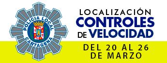 Controles de Velocidad. Del 20 al 26 de marzo de 2017
