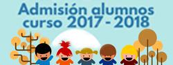 Apertura del plazo de Admisión a Centros Educativos del Municipio de Cartagena. Del 23 de marzo al 5 de abril de 2017.