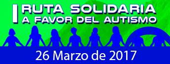 I Ruta Solidaria a favor de las personas con Autismo