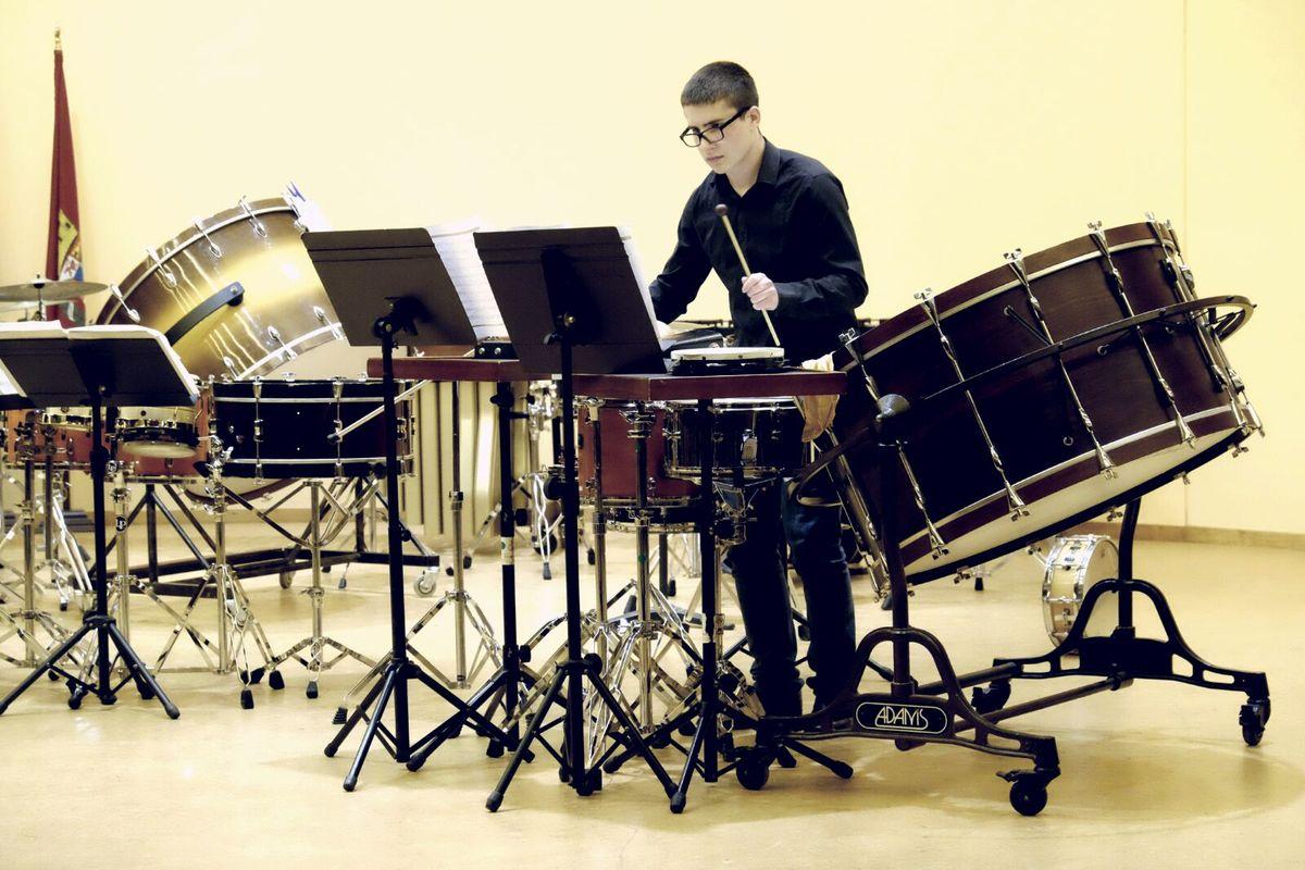 Final de la modalidad de percusión de la XX edición de 'Entre cuerdas y metales'