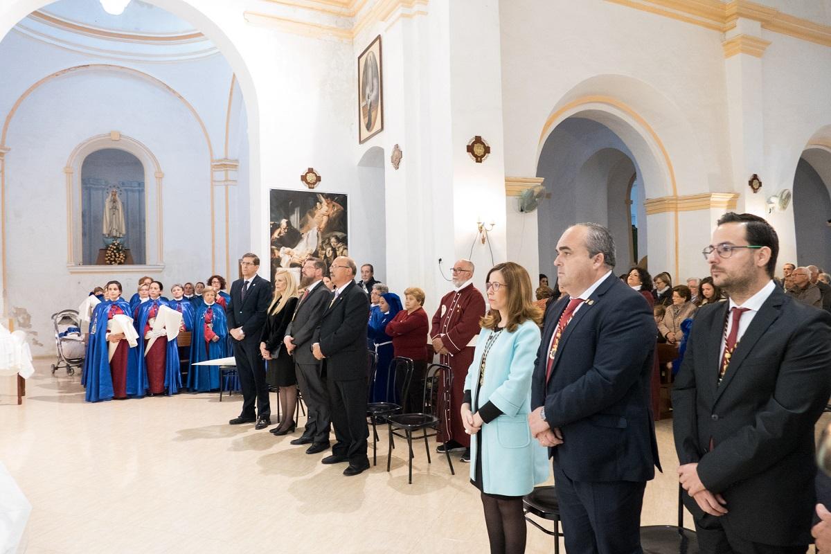 Celebración de la Virgen de la Caridad en Alumbres