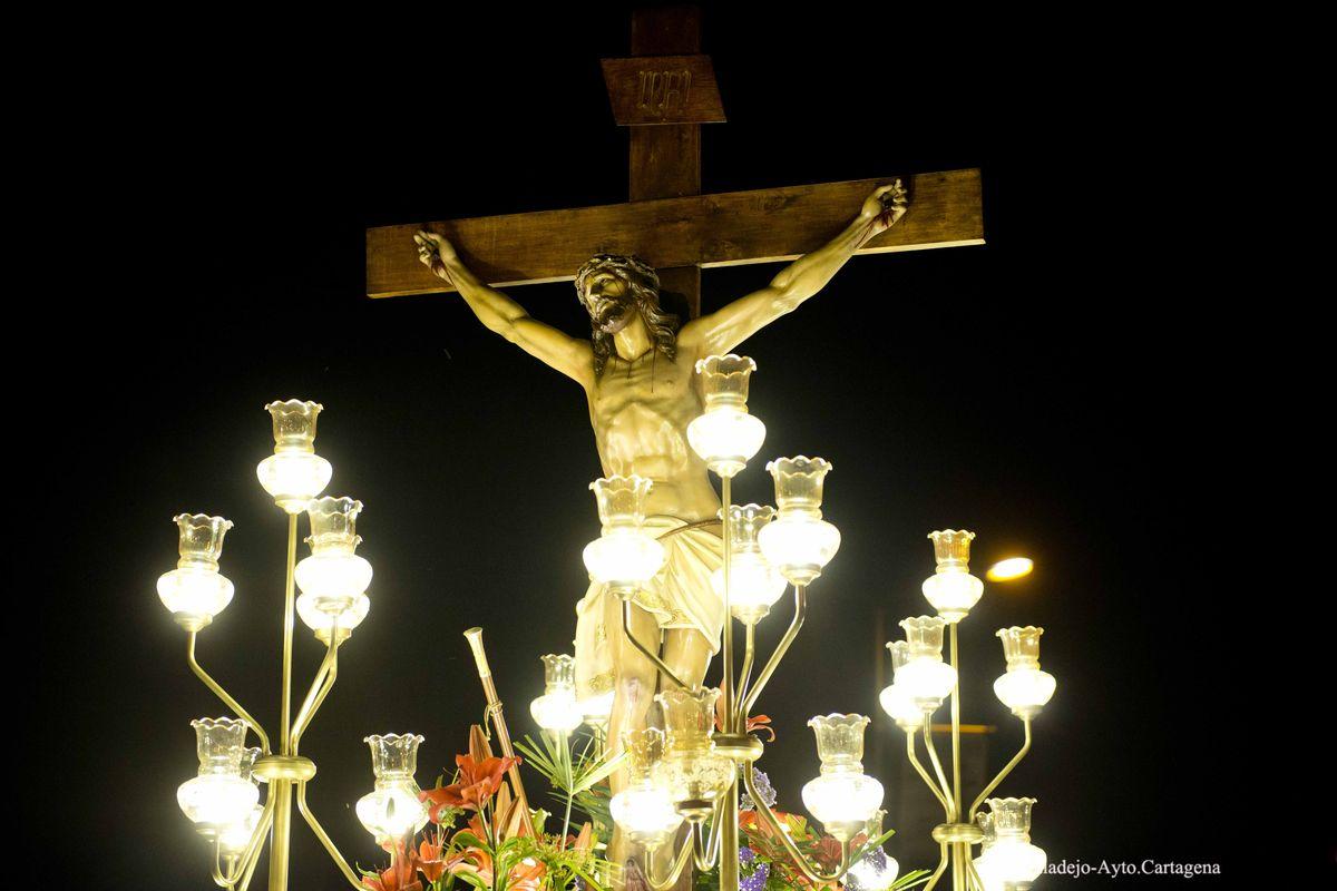 Procesión de Jueves Santo en Cabo de Palos