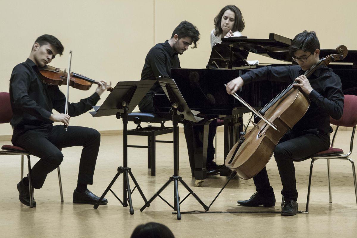 Final de la modalidad de Música de Cámara de 'Entre Cuerdas y metales'