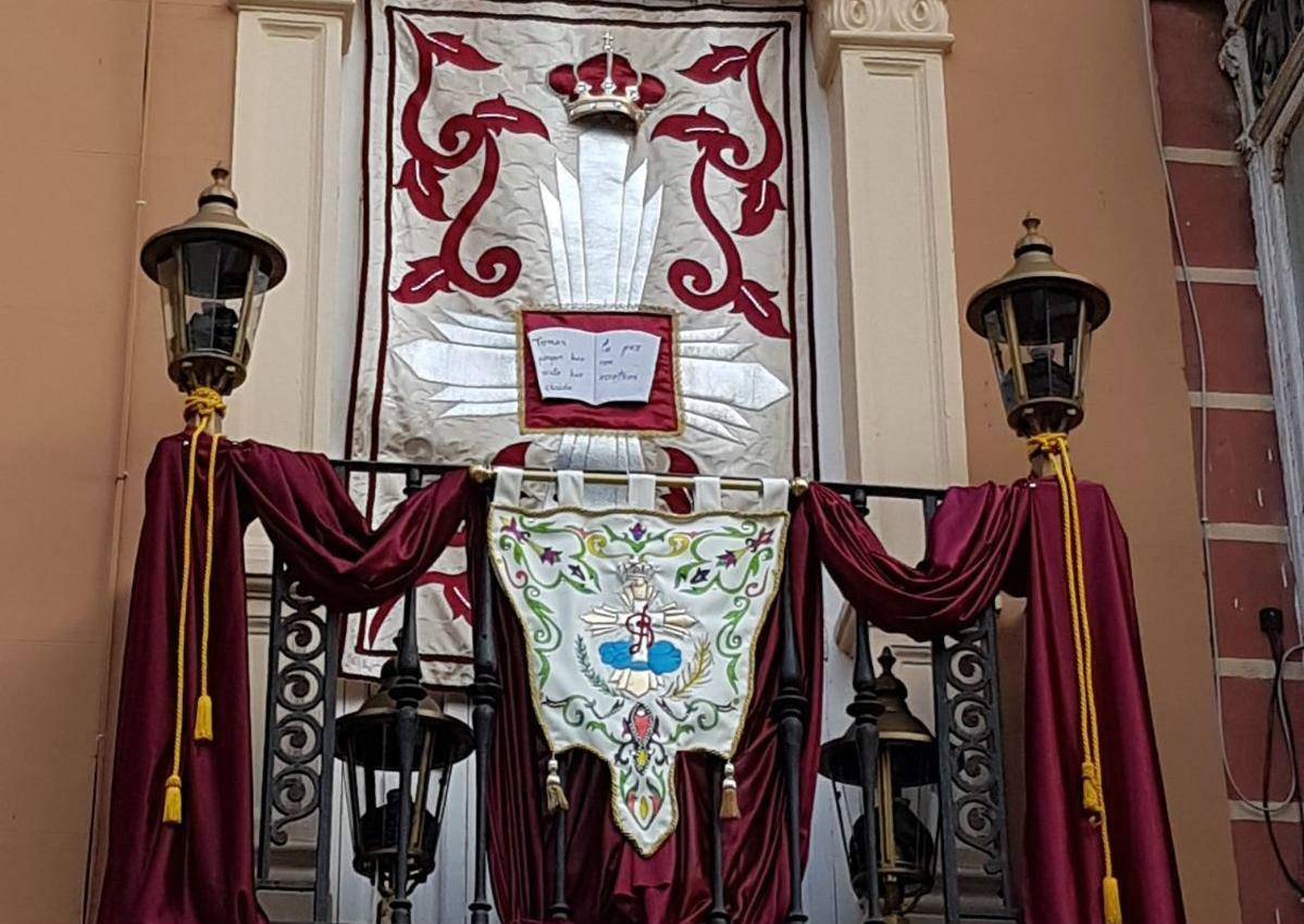 Ganador II Concurso de Fachadas y Balcones de Semana Santa