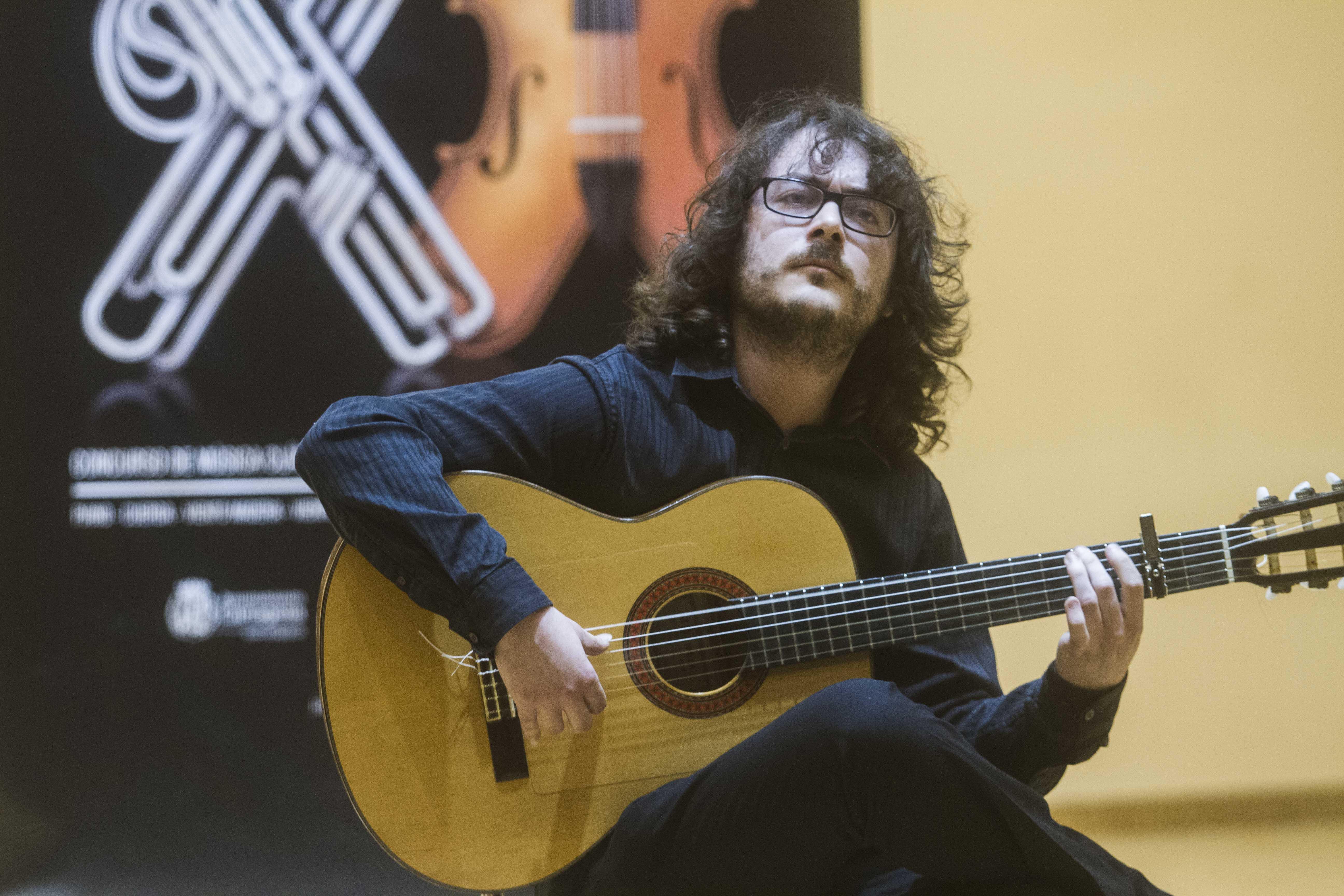 Concursantes en la modalidad de flamenco de la XX edición de Entre Cuerdas y Metales
