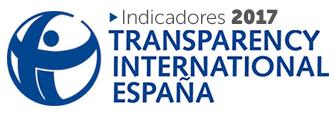 Indicadores 2017. Transparencia Internacional España
