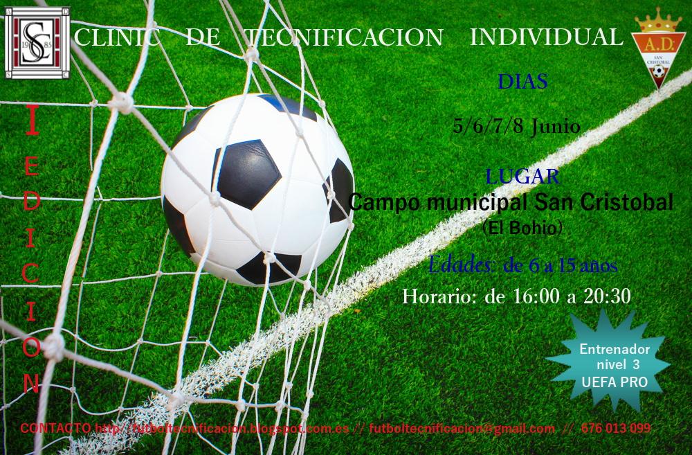 El campo municipal de fútbol San Cristóbal de El Bohío acoge la ... 5e82af785c8fa