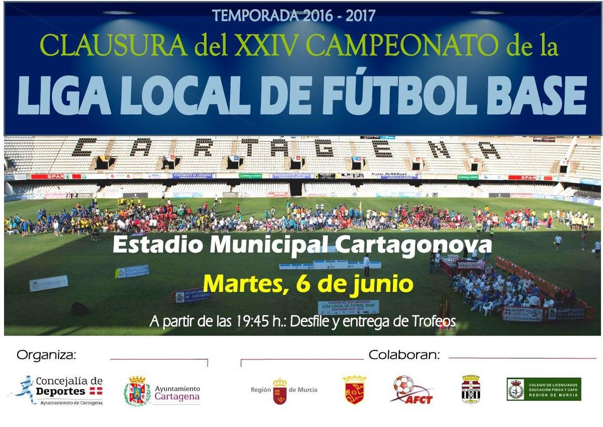 Clausura de la Liga Local de Fútbol Base