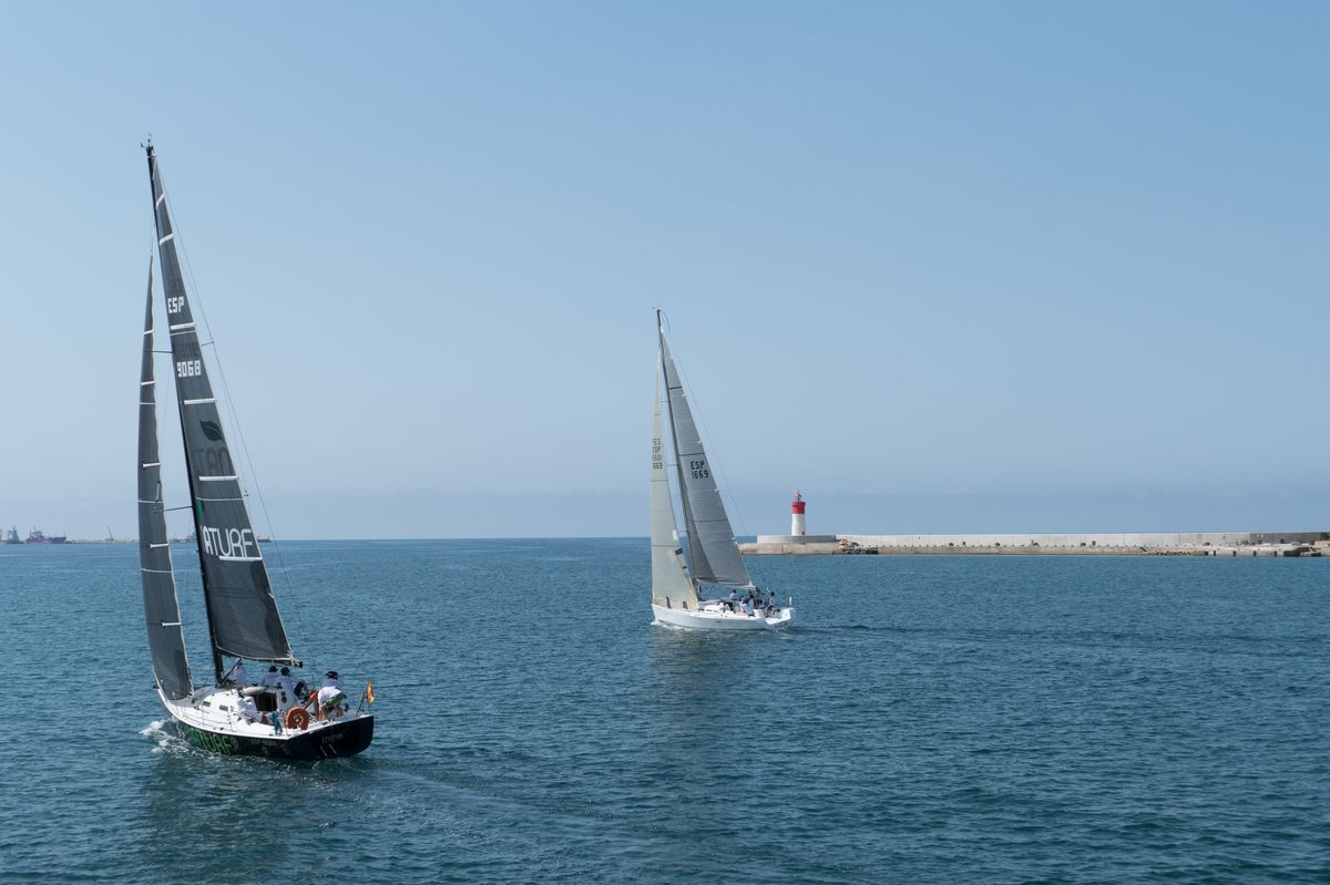 Salida de la Regata Cartagena-Ibiza