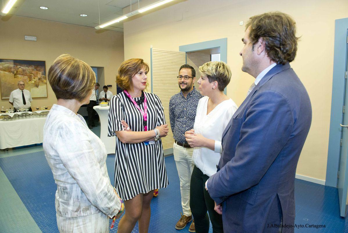 Clausura del ejercicio 2017 de AMEP Cartagena