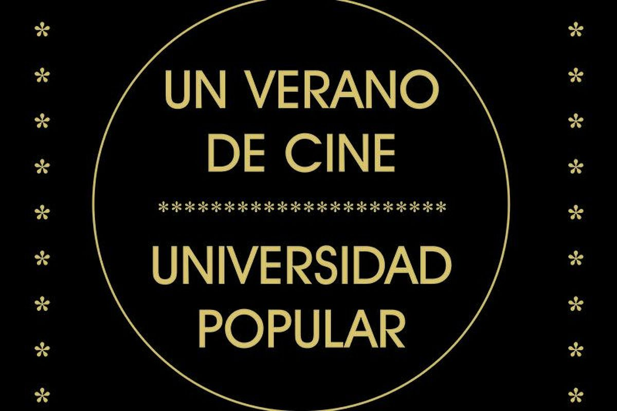 Cartel de 'Un verano de cine', de la Universidad Popular