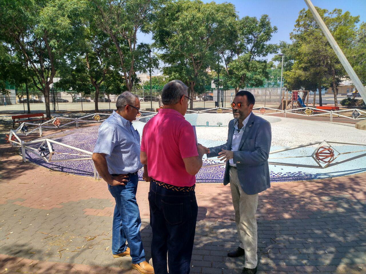 Desarrollo sostenible entrega a la junta vecinal de los for Ejemplo protocolo autocontrol piscinas