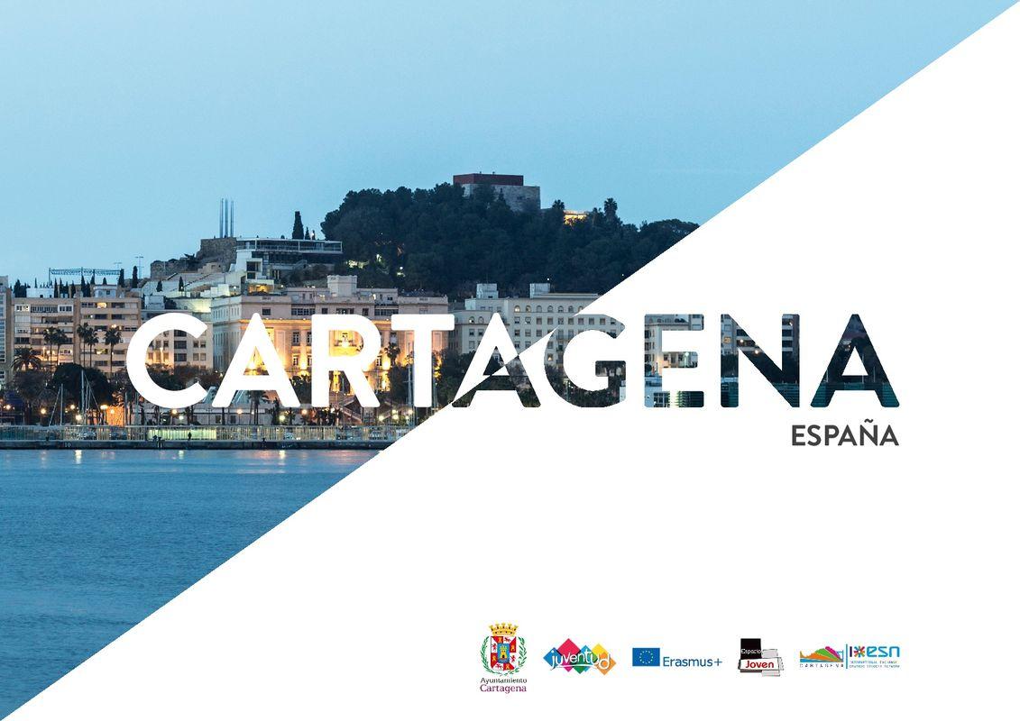 Portada de la Guía online de Cartagena para Jóvenes Viajeros