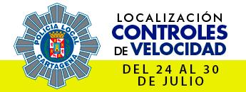 Controles de Velocidad. Del 24 al 30 de julio de 2017