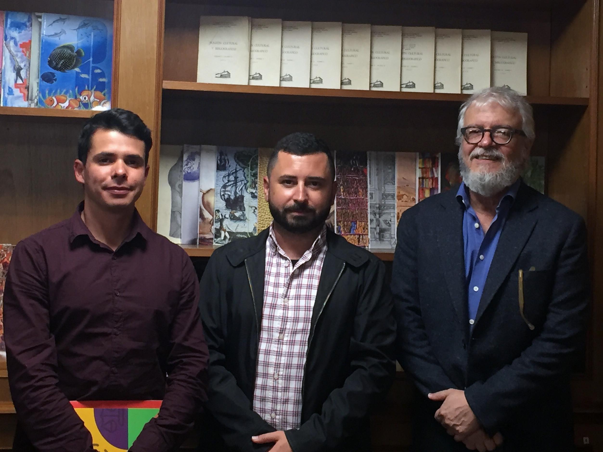 Reuniones en Colombia de Alberto Soler Premio Mandarache