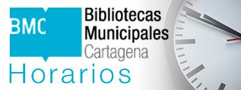 Bibliotecas Municipales. Horarios