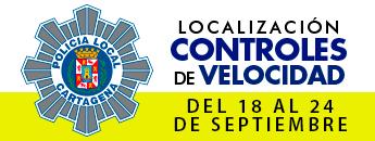 Controles de Velocidad. Del 18 al 24 de septiembre de 2017