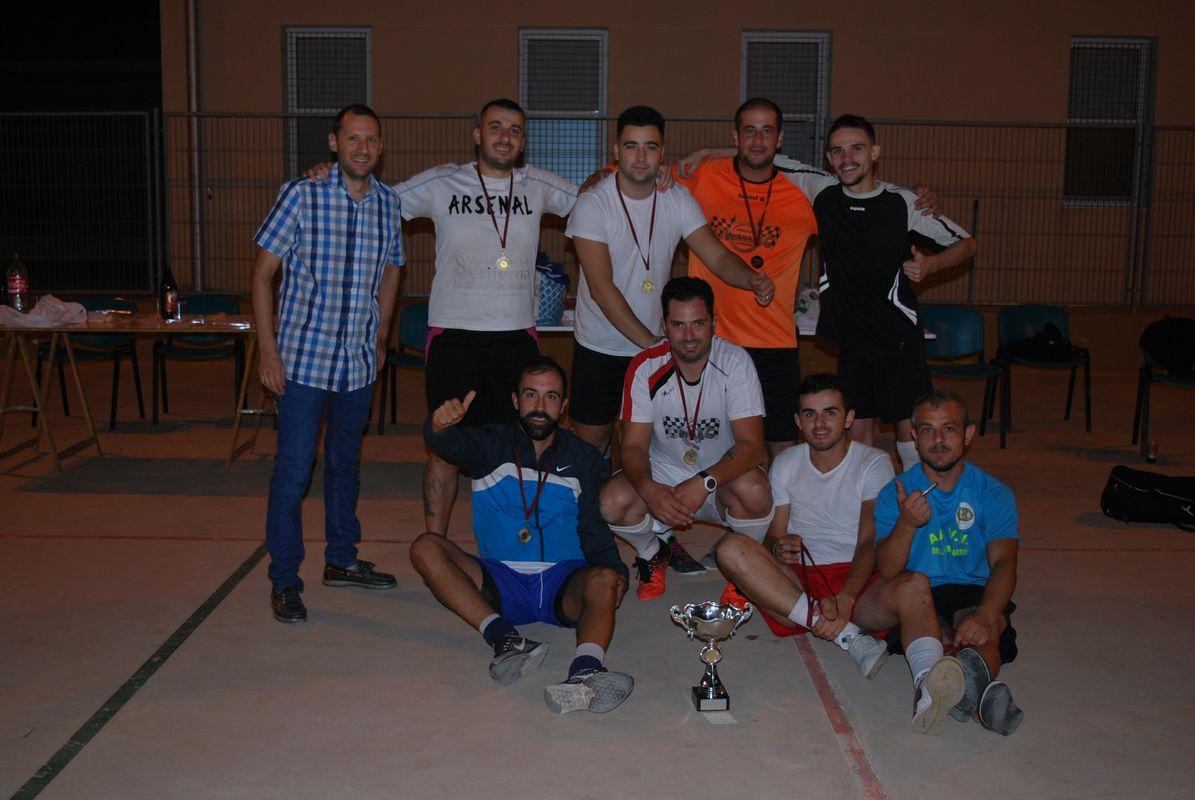 Los Parras se proclama campeón del V Torneo de Fútbol Sala de La Aljorra