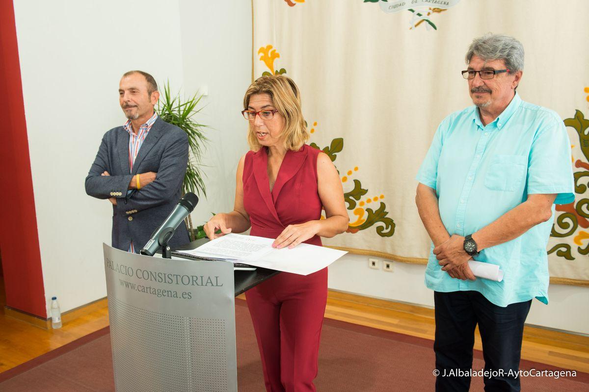 Presentación del estudio sobre exclusión residencial de Cartagena