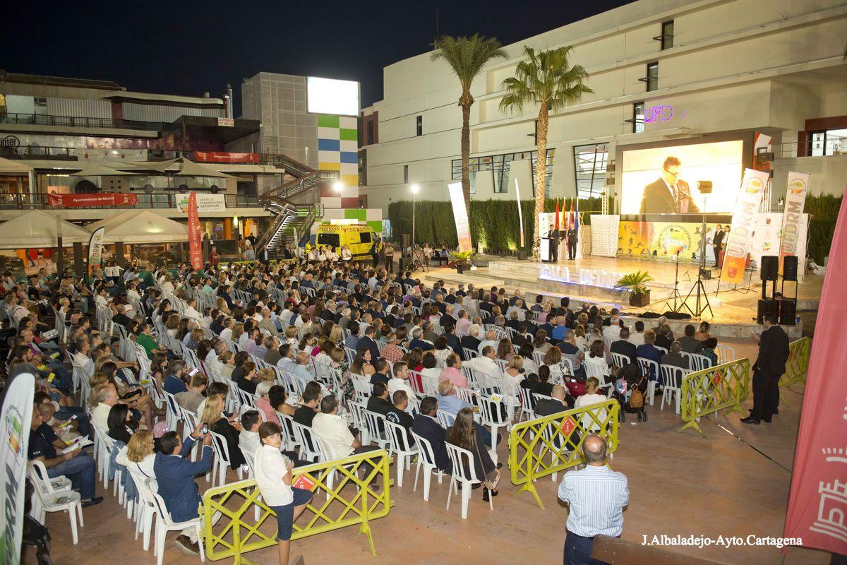 I Gala del Deporte de la Unión de Federaciones Deportivas de la Región de Murcia