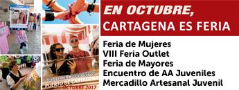 Ferias de Octubre en Cartagena 2017