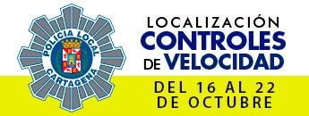 Controles de velocidad. Del 16 al 22 de octubre de 2017