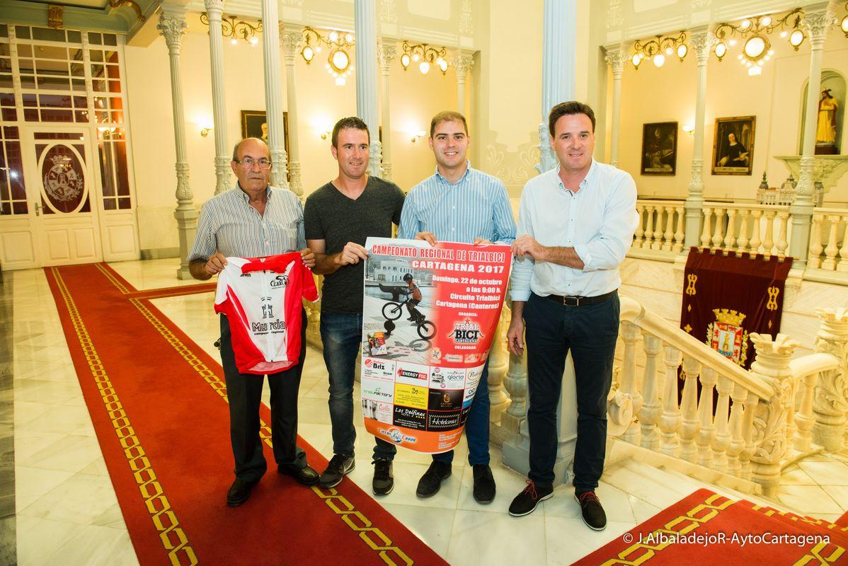 El campeonato de Trial de la Región se decidirá en Cartagena