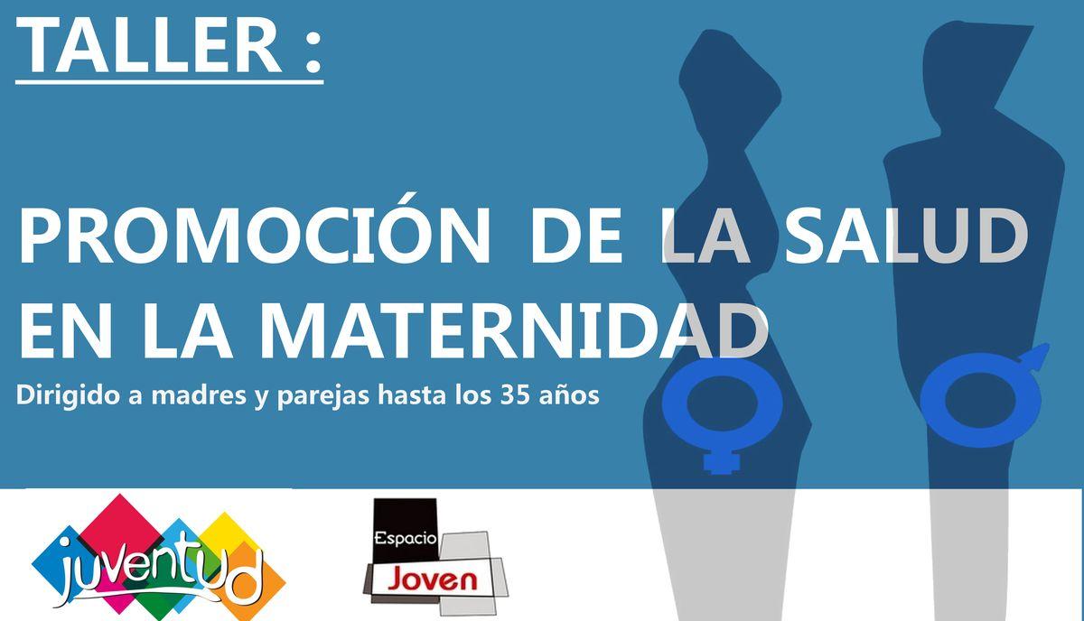 Cartel del curso-taller de 'Promoción de la Salud en la Maternidad'