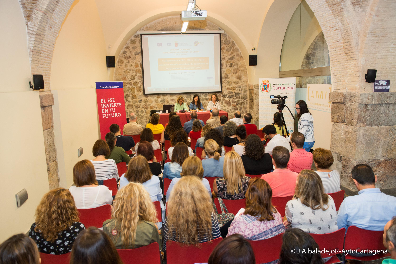 Presentación de las líneas del protocolo de inserción laboral SEF, IMAS y Ayuntamiento de Cartagena