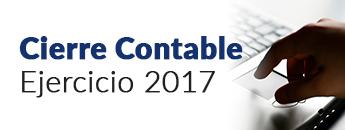 Cierre Contable Ejercicio 2017