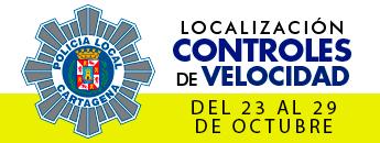 Controles de velocidad. Del 23 al 29 de octubre de 2017