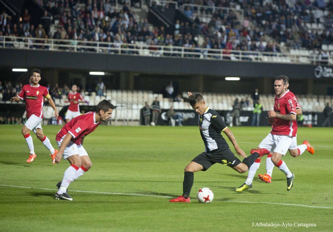 Derbi FC Cartagena - Real Murcia (11 de noviembre de 2017)