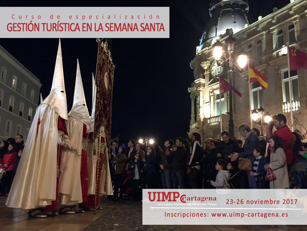 Cartel del 'Curso en Gestión Turística de la Semana Santa'