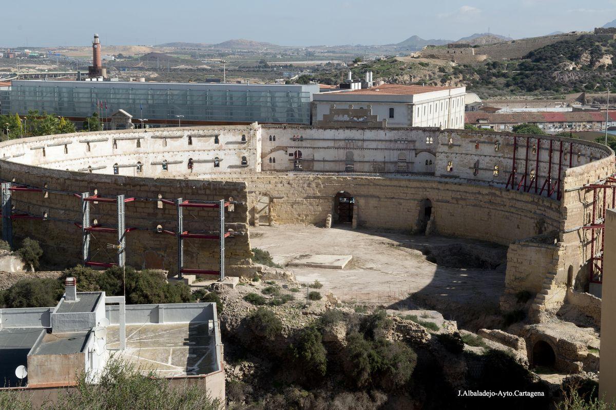 Plaza de Toros y Anfiteatro Romano