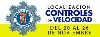 Controles de velocidad. Del 20 al 26 de noviembre de 2017