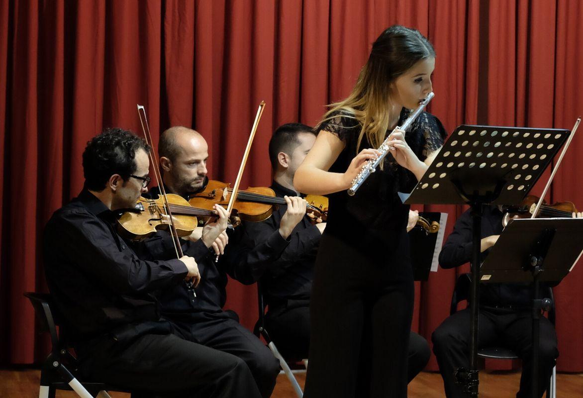 Primer concierto promocional XXI edición del Concurso Entre Cuerdas y Metales-Lorca