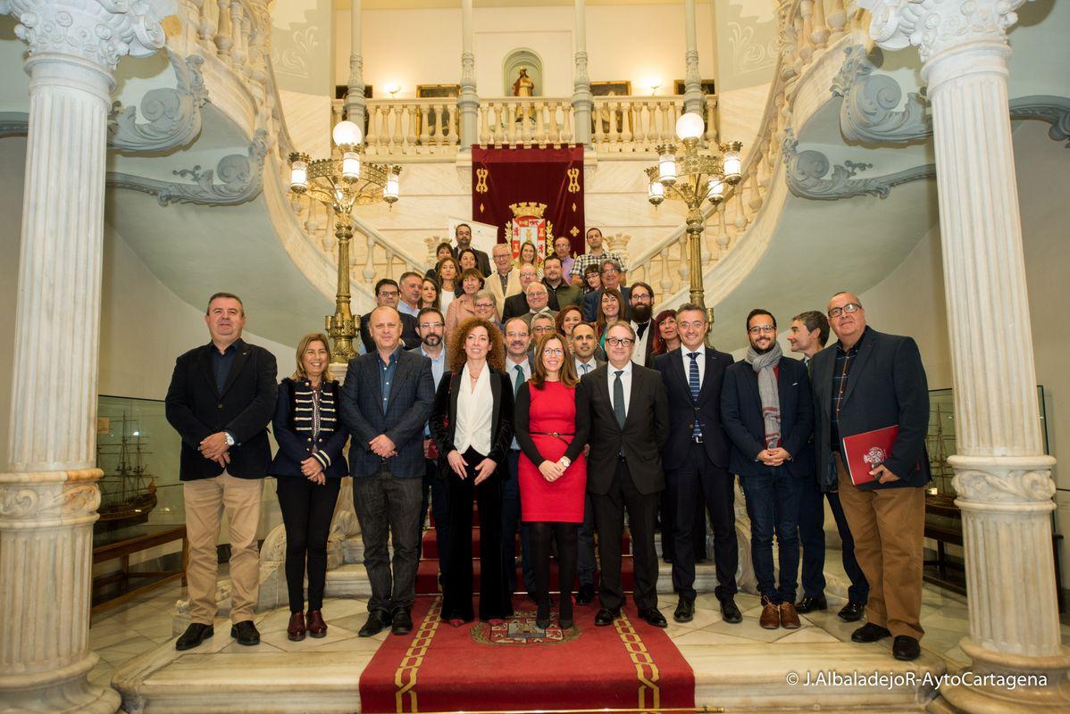 Firma del Convenio para la continuidad del proyecto ICI y Espacio de Relación Institucional