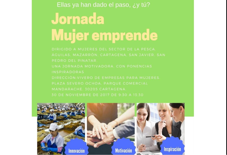 Jornada Mujer Emprende en el Vivero de Empresas de Cartagena