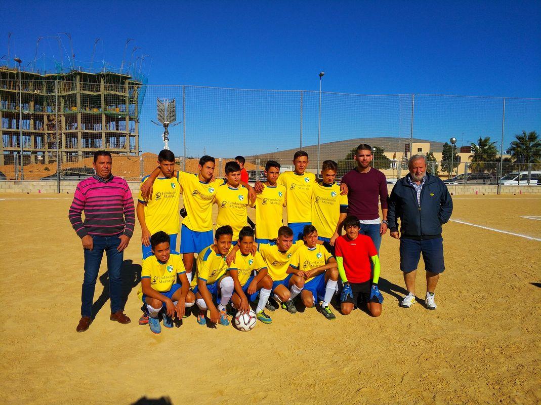CD Villalba Cadete - Jornada 7 de la Liga Comarcal de Fútbol Base