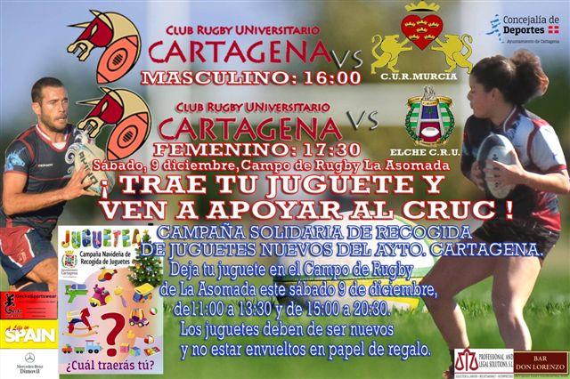 Campaña juguetea del CRU Cartagena
