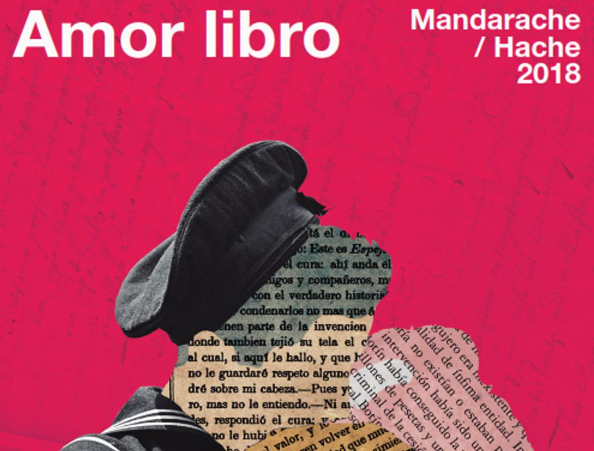 Cartel de Amor Libro, Premios Mandarache y Hache 2018