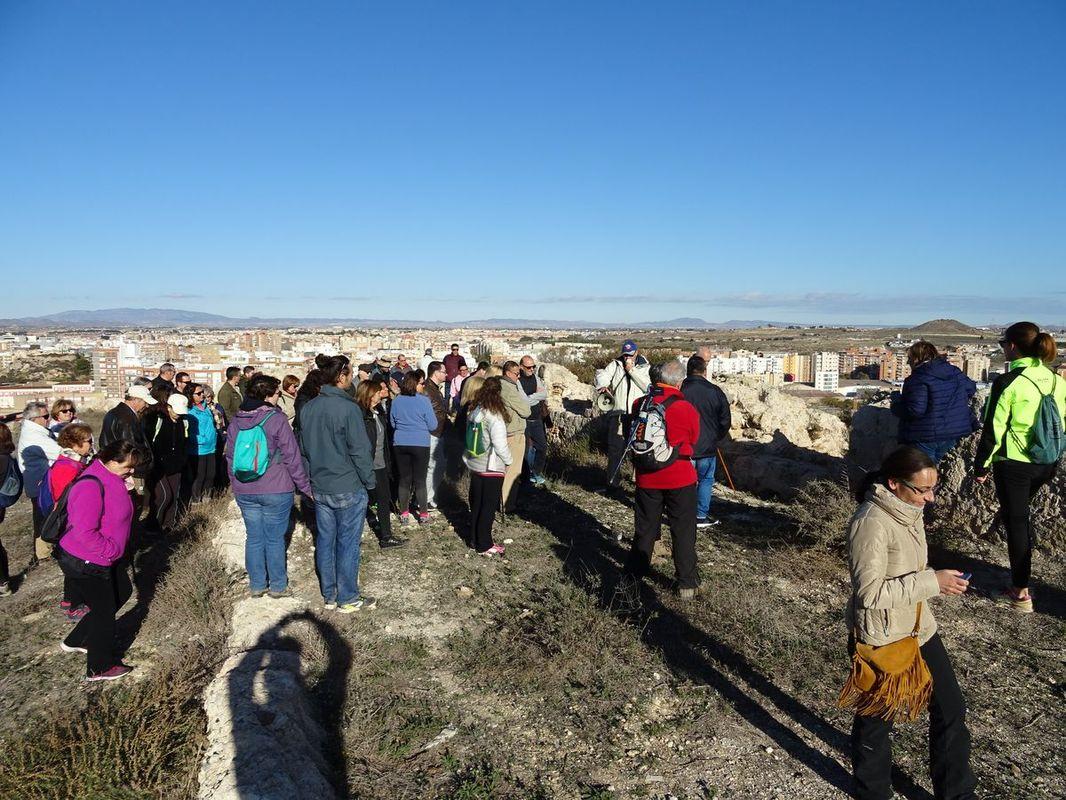 Visita guiada al Castillo de los Moros por AFORCA